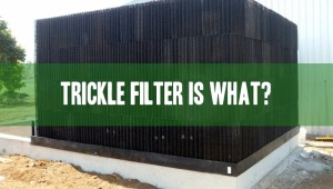 trickle filter for aquaculture and aquaponics