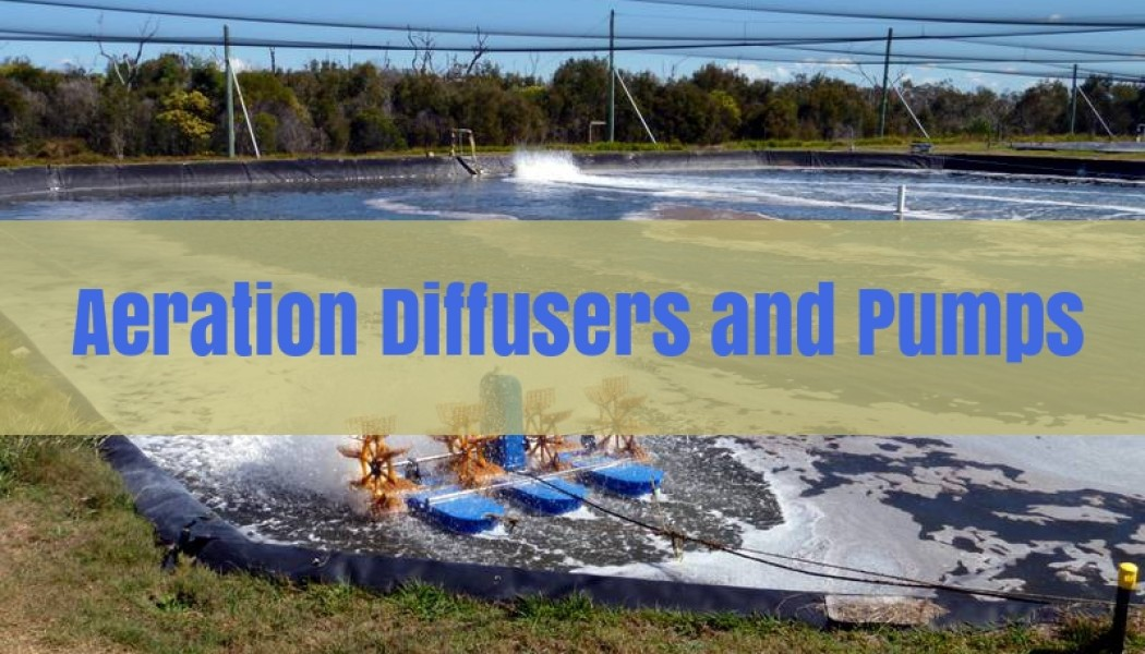 Aeration, Air Diffusers or Air Stones
