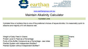 alkalinity calculator in aquatic systems